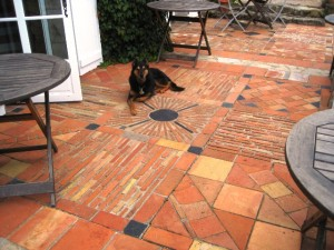 benefits of traveling - fantastic french patio tile pattern