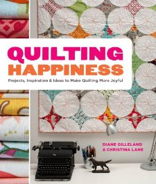 acrafty interview craftypod quilting happiness book cover