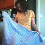 interview sabrina larson baby blanket