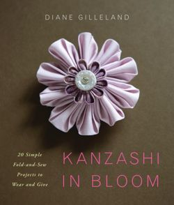 acrafty interview craftypod kanzashi in bloom book cover