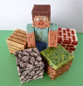 acrafty interview craftypod plastic canvas minecraft blocks