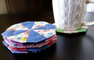 acrafty interview craftypod quiltblock coasters