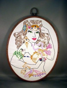 ACrafty Interview - Katie Kutthroat belly dance embroidery