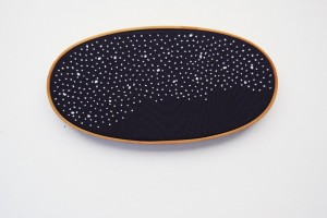 ACrafty Interview - whatnomints - final frontier starry embroidery hoop