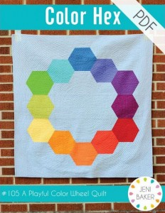 jeni baker color hex quilt pattern