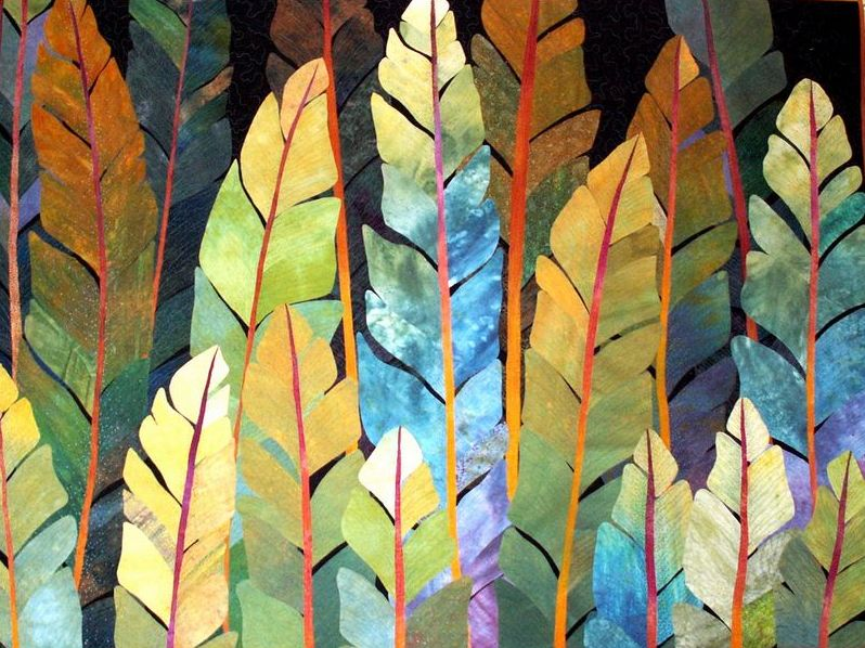 acrafty interview with betty busby quilt night jungle