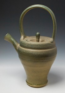 ACrafty Interview - Chris Tedin pottery teapot 1