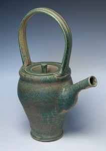 ACrafty Interview - Chris Tedin pottery teapot 3