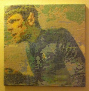 acrafty interview - schinderman - large scale spock star trek cross stitch