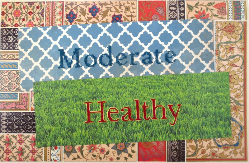 cross stitch on paper BeMores Set 3 healthy and moderate