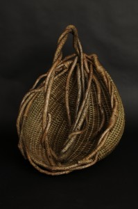 acrafty interview - tinas baskets large basket