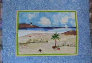 acrafty interview - linda martin seaside quilt