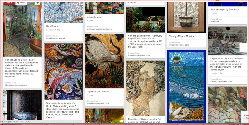 healthy water crafts - pinterest collection of art mosaics