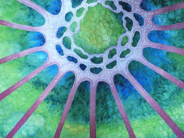 acrafty interview - betty busby detail of quilt diatom 3