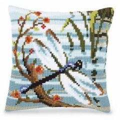 healthy water crafts - dragonfly pillow