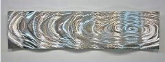 healthy water themed crafts part 2 - metal ripple wall art