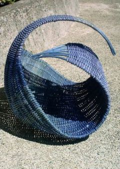 healthy water crafts - wave basket