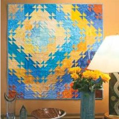 healthy water themed crafts part 5 - quilt pattern
