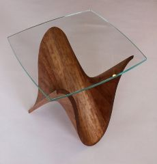 water themed crafts part 5 - wooden wave table