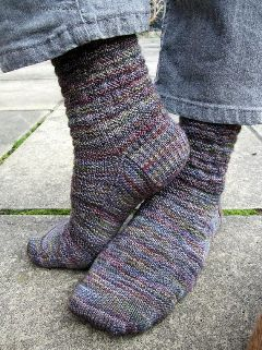 variegated floss projects part 4 - socks