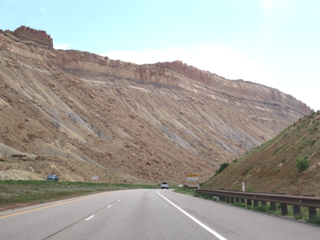 gypsy ways update 1 - Geology on I-70 near Grand Junction