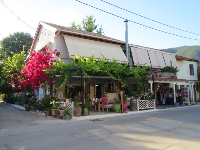 gypsy ways update 3 - nidri greece our favorite restaurant