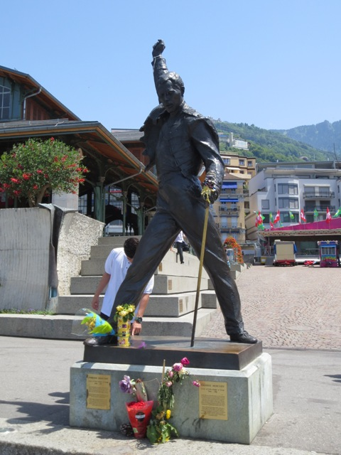 gypsy ways update 4 - freddie mercury statue in montreux switzerland