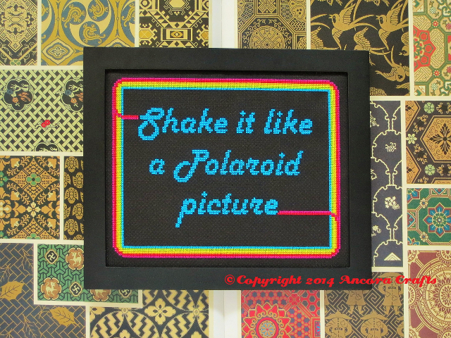 polaroid cross stitch pattern