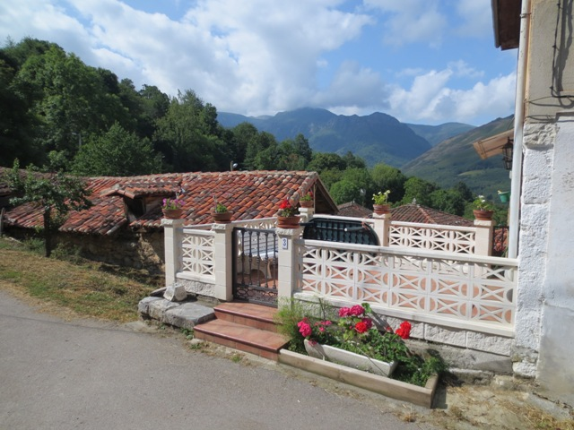 gypsy ways update 7 view from the house in carrea asturias