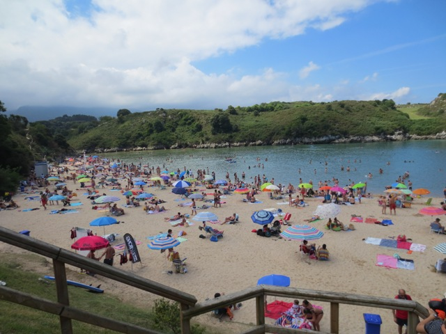 gypsy ways update 7 - the playa de poo near llames, asturias