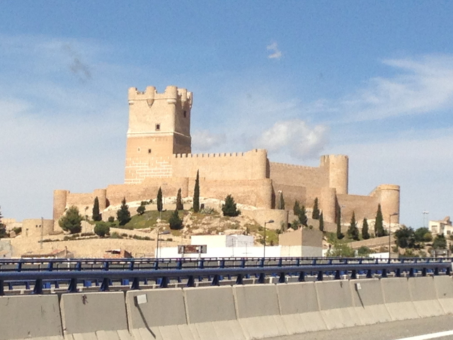 gypsy ways update 8 - castle at villena spain