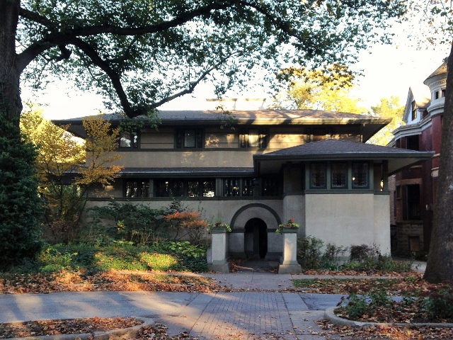 gypsy ways update 10 - frank lloyd wright frank w thomas house forest avenue oak park illinois