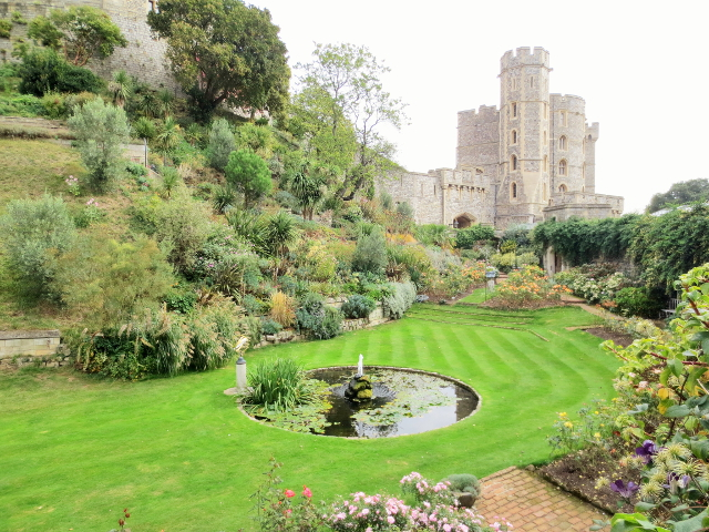 gypsy ways update 9 - garden at windsor castle