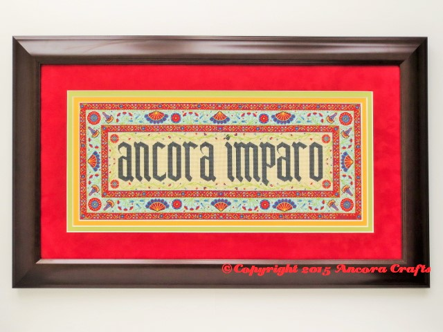 persian needlepoint kit and pattern ancora imparo