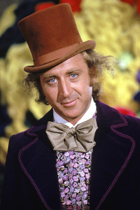 photo of gene wilder as willy wonka