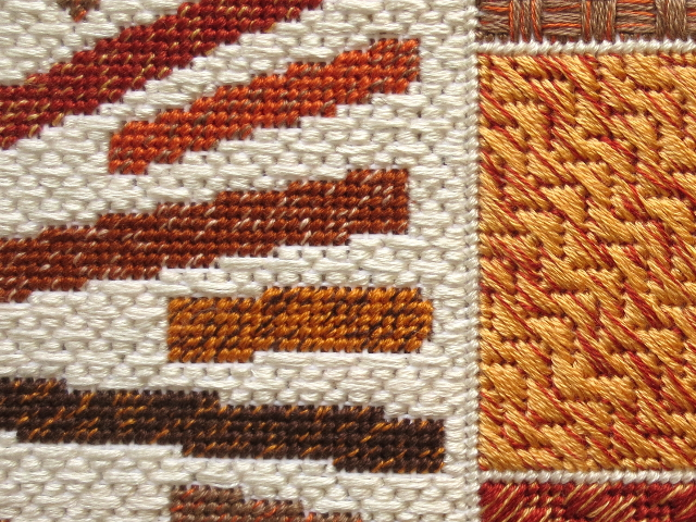 compass needlepoint compass rose close up 2