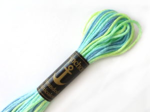 anchor 1345 variegated floss