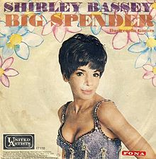 Shirley Bassey Big Spender German single cover